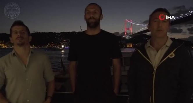 Ali Koç ve Emre Belözoğlu'ndan Vedat'a veda