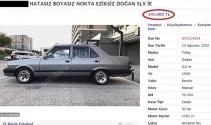 20 yaşını geçmiş araçlara öyle bir fiyat istediler ki, görenler hayretler içinde kaldı