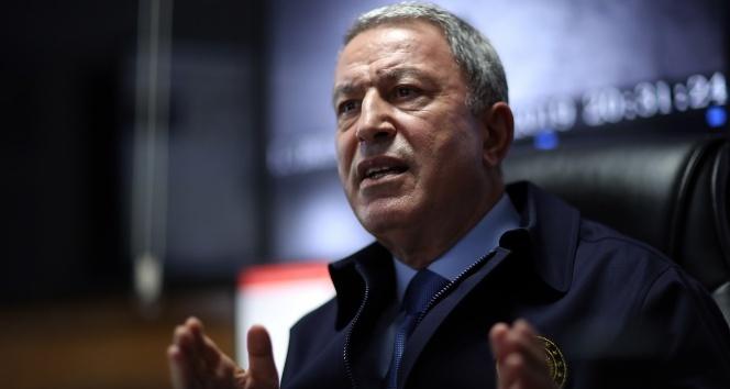 Milli Savunma Bakanı Akar'dan net Doğu Akdeniz mesajları