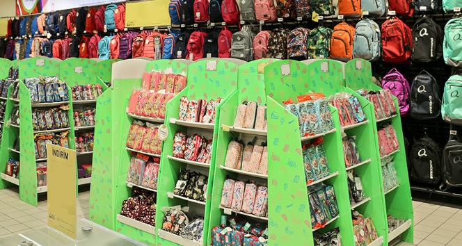 Okul alışverişinde AB standartlarında güvenli ürün