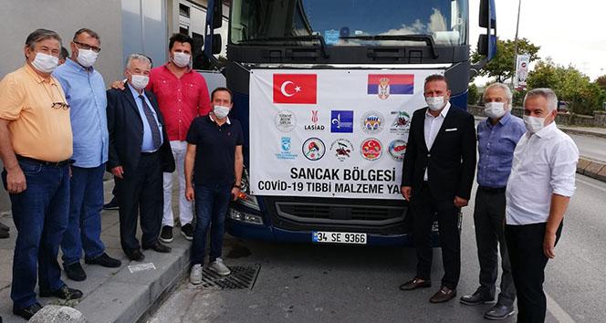 Türkiye'den, Sırbistan'ın Sancak Bölgesi'ne tıbbi malzeme yardımı