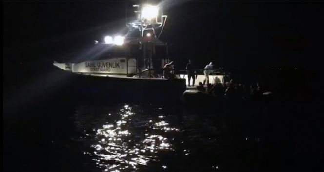 Bodrum açıklarında göçmen teknesi battı: 2 ölü