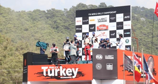 Dünya Ralli Şampiyonası'nın 5. ayağı sona erdi