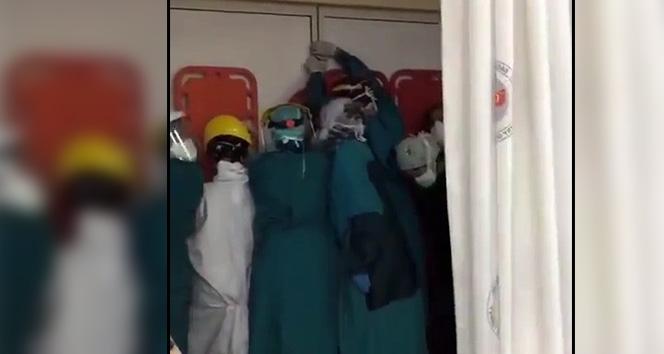 Başsavcılıktan, sağlık çalışanlarına saldırı girişimine soruşturma
