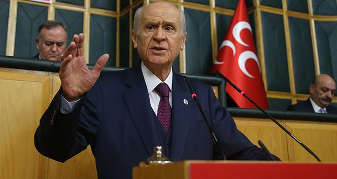 MHP Genel Başkanı Bahçeli: 'Birbirlerinin yanında dahi duramayanlara Türkiye emanet edilir mi?'