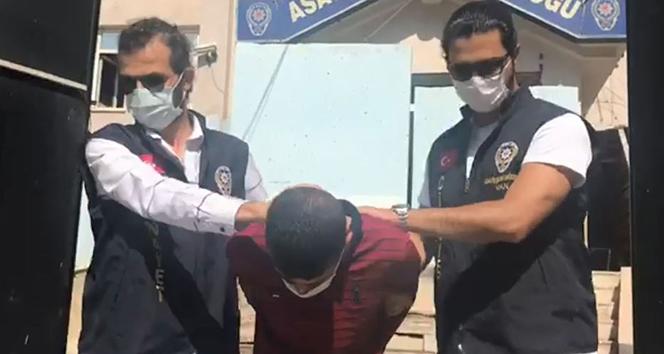 8 yıl hapis cezası bulunan şahıs tutuklandı