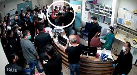 Ankaradaki sağlık çalışanlarına saldırı girişiminin fotoğraf kareleri ortaya çıktı!