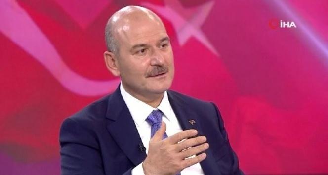 """İçişleri Bakanı Soylu: """"Bu gün buraya girerken Şırnak'ta 4 terörist daha etkisiz hale getirildi"""