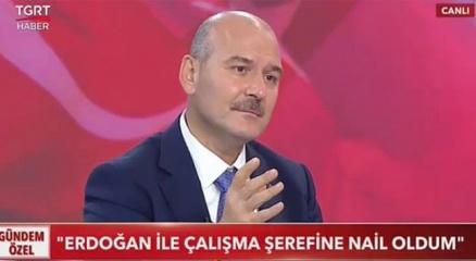 Bakan Soylu: Benden sonraki bilsinler ki bu adam Tayyip Erdoğanla çalıştı bitirdi defteri kapattı