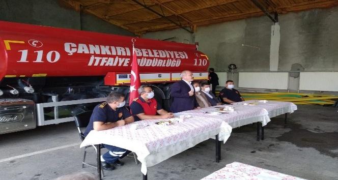 Çankırı'da 'İtfaiye Haftası' kutlandı