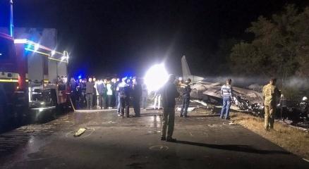 Ukraynadaki uçak kazasında ölü sayısı 25e yükseldi