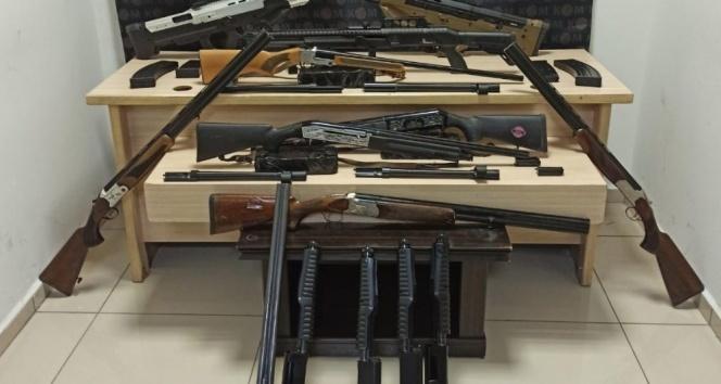Silah kaçakçılarına göz açtırılmıyor