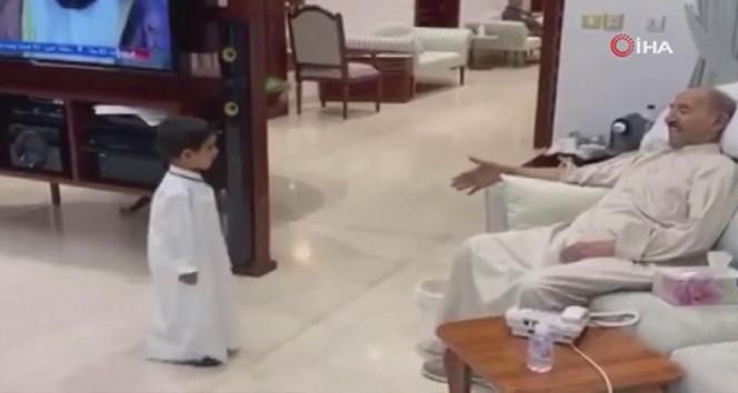 Hayatını kaybeden Kuveyt Emirinin torunuyla son görüntüsü paylaşıldı