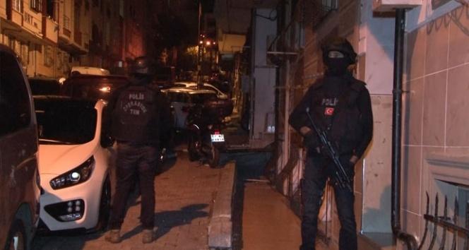 İstanbul'da 8 ilçede DEAŞ ve HTŞ'ye operasyon
