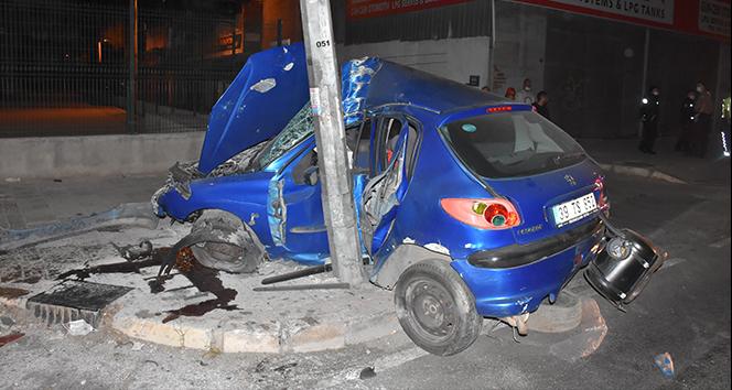 İzmir'de trafik kazası: 1 ağır yaralı