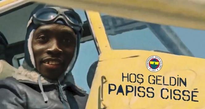 Papiss Cisse Fenerbahçe'de