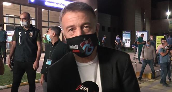 Başkan Ahmet Ağaoğlu'ndan transfer açıklaması