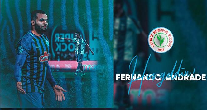 Çaykur Rizespor, Fernando Andrade ile anlaşma sağladı