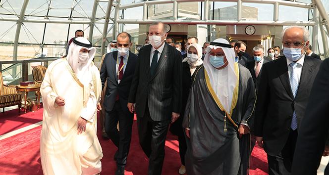 Cumhurbaşkanı Erdoğan, Kuveyt'te