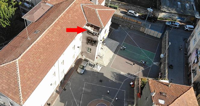 Balat'taki okulda şaşırtan görüntü