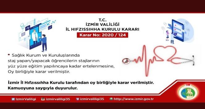 İzmir'de koronavirüs salgınına karşı yeni kararlar