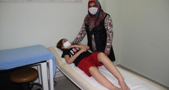2 yaşından beri mücadele ettiği hastalığı akupunktur ve ozon tedavisiyle yendi