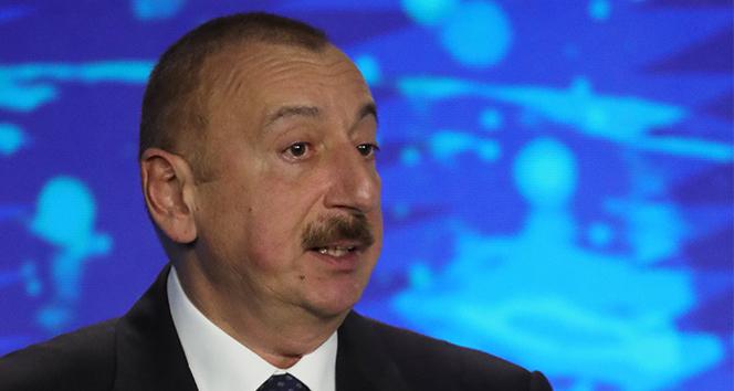 Aliyev, Fuzuli şehrinin Ermeni işgalinden kurtarıldığını duyurdu