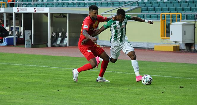 Konyaspor ile Yeni Malatyaspor yenişemedi
