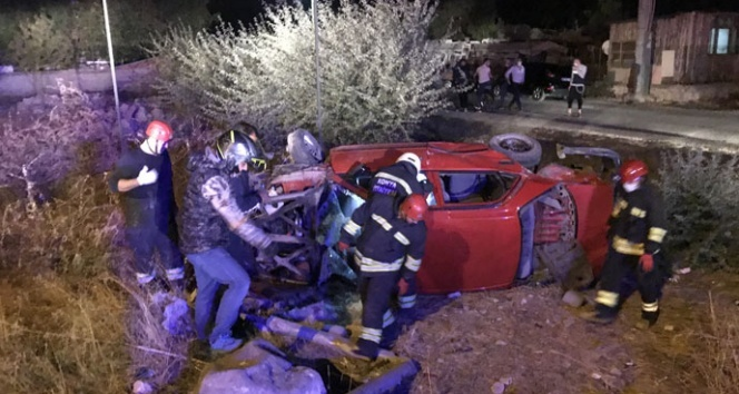 Konya'da otomobiller çarpıştı: 9 yaralı