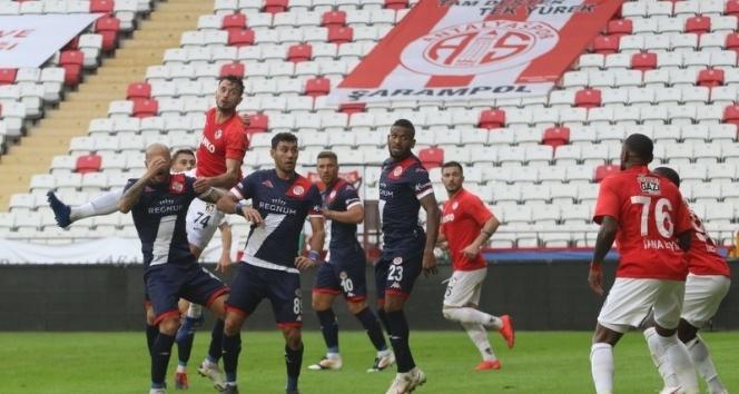 FT Antalyaspor: 1 - Gaziantep FK: 1 | Maç sonucu