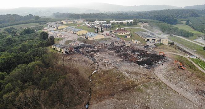 7 kişinin ölümüne neden olan havai fişek fabrikasına sulama sistemi kuruluyor