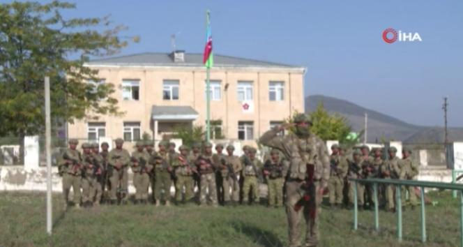 Ermenistan işgalinden kurtarılan Zengilan şehrine Azerbaycan bayrağı dikildi