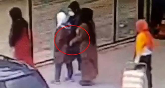 Bursa'da yok artık dedirten hırsızlık kameralara yansıdı