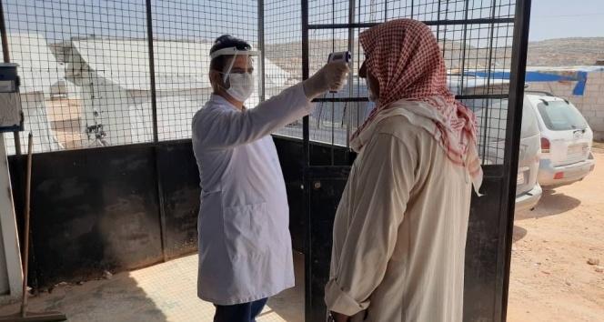 Suriye'de pandemi ile mücadele devam ediyor