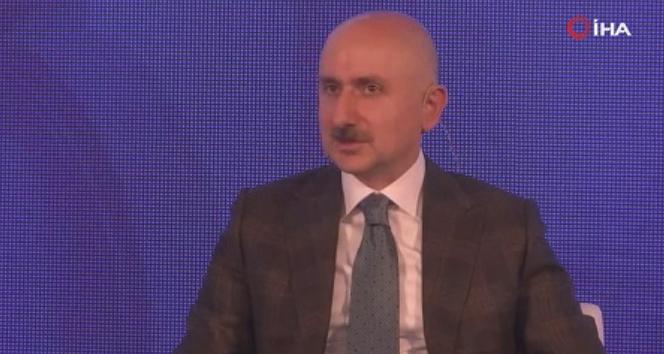 Bakan Karaismailoğlu: 'Amacımız Mayıs 2021'de Kağıthane-Havalimanı hattını açmak'
