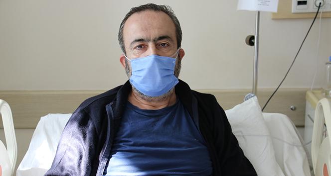 Covid-19 hastası: 'Torunu kucaklayıp öpüyorduk, 2 gün ateşlendi sonra kenara çekildi'
