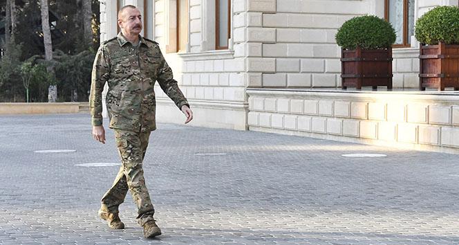 Azerbaycan Cumhurbaşkanı İlham Aliyev: '100'den fazla yerleşim yeri işgalcilerden kurtuldu'