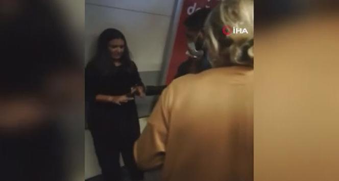 Şişli metrosunda rayların arasına düşen genç kız yaralı kurtuldu