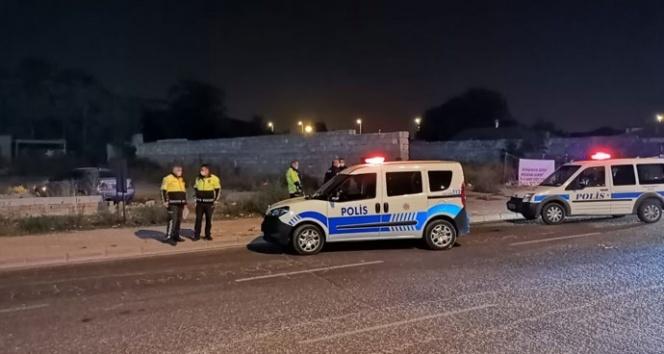 Kayseri'de şüpheli araç polisi alarma geçirdi