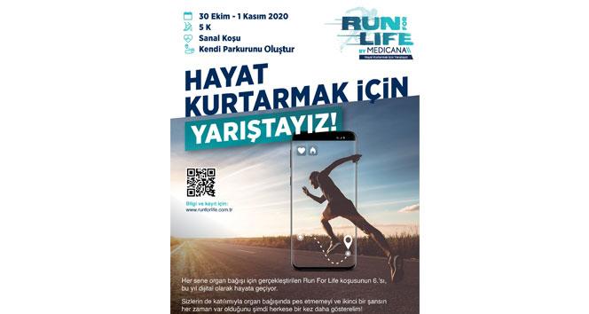 'Hayat Kurtarmak İçin Yarıştayız- Run For Life' için geri sayım başladı
