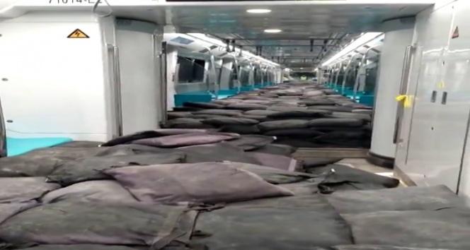 Mecidiyeköy-Mahmutbey Metro Hattının deneme sürüşü tamamlandı