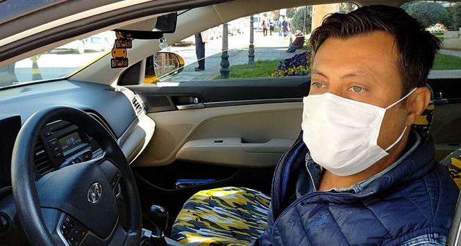 Taksiciler maskesiz yolcuların 'pes' dedirten bahanelerini anlattı