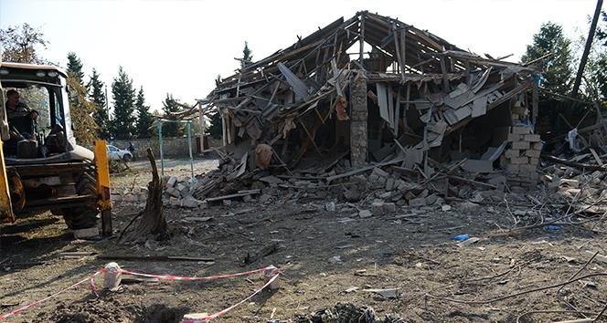 Ermenistan ordusu insani ateşkes ihlal ederek Terter'e ateş açtı