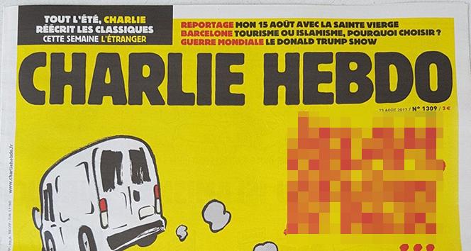 Ankara Cumhuriyet Başsavcılığı, Fransız dergisi Charlie Hebdo'nun yetkilileri hakkında soruşturma başlattı