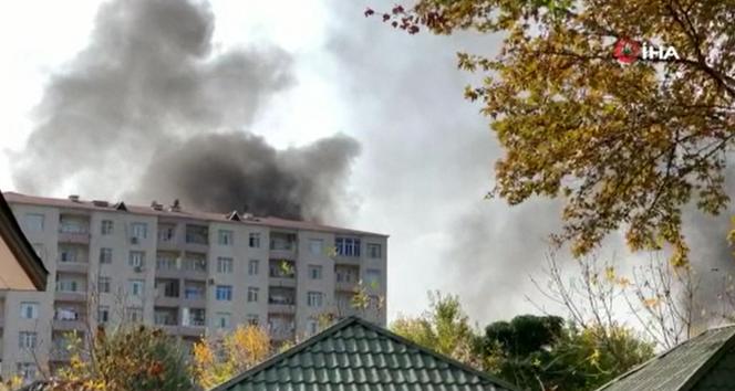 Ermenistan ordusu Berde kent merkezini vurdu: 3 ölü