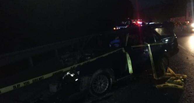 Bursa-Ankara yolunda feci kaza: 1 ölü, 4 yaralı