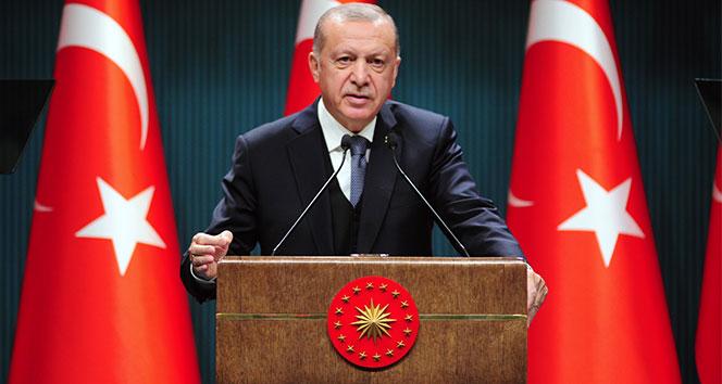 Cumhurbaşkanı Erdoğan: 'Türk milletinin istiklal mücadelesi bitmeyecek'