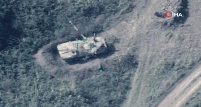 Azerbaycan, Ermenistan'a ait askeri hedefleri imha etti