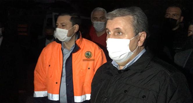 Mustafa Destici'den deprem bölgesine ziyaret