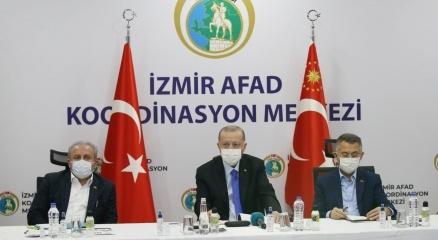 Cumhurbaşkanı Erdoğan İzmirde